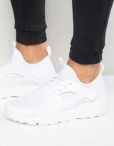 Nike Air Huarache Run Ultra Trainers In White 819685-101