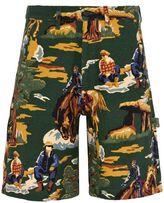 Stella McCartney country scene shorts