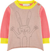 Stella McCartney Graphic cashmere and organic cotton sweater
