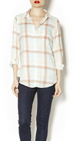 Love Stitch Polly Plaid Top