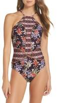 Becca Floral Cottage One-Piece Swimsuit