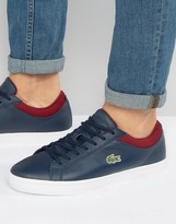 Lacoste Straightset Cuff Trainers