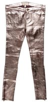 Current/Elliott Metallic Leather Pants w/ Tags