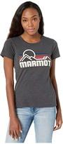 Marmot Coastal Short Sleeve Tee (Charcoal Heather) Women's Clothing