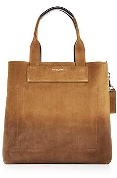 Michael Kors Henry Burnished Suede Tote