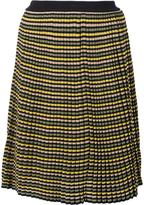 Sonia Rykiel A-line striped skirt