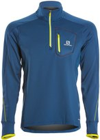 Salomon Men's Trail Runner Warm LS Zip Tee 8137728