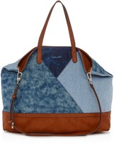 Splendid Emerald Bay Denim Tote