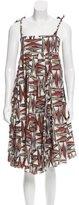 Marni Abstract Midi Dress