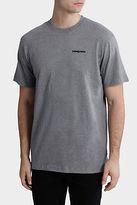 Patagonia NEW M'S P-6 Logo Cotton T-Shirt Grey