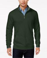Club Room Men's Quarter Zip Sweatshirt, Only At Macy's