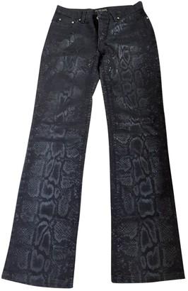 Roberto Cavalli Black Cotton - elasthane Jeans for Women
