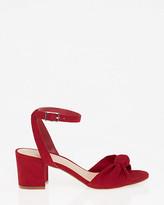 Le Château Knot Ankle Strap Sandal