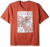 Rocawear Men's Big and Tall Spider Short Sleeve Tee