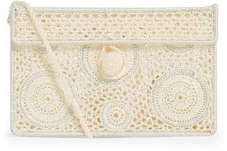 Sophie Anderson Embroidered Cross-Body Bag