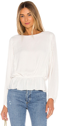 1 STATE Shadow Stripe Dolman Blouse