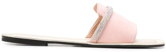 Pollini Embellished Strap Sandals