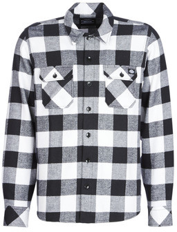 Dickies SACRAMENTO men's Long sleeved Shirt in Black