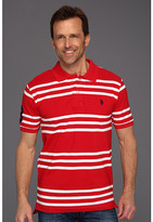 U.S. Polo Assn. Striped Polo with Small Pony