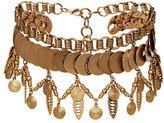 Elizabeth Cole Fringe Collar Necklace