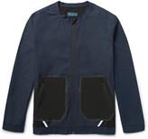 Under Armour Sportswear - Pivot Shell-panelled Textured-cotton Jacket