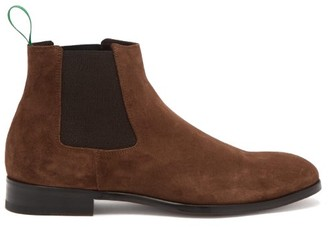 Paul Smith Crown Suede Chelsea Boots - Brown
