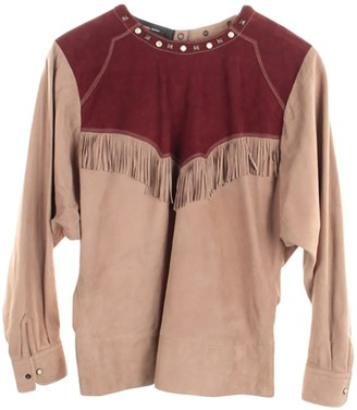 Isabel Marant Beige Leather Top for Women