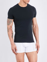 La Perla Seamless stretch-cotton T-shirt