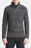 Vince Camuto Men's Quarter Zip Sweater