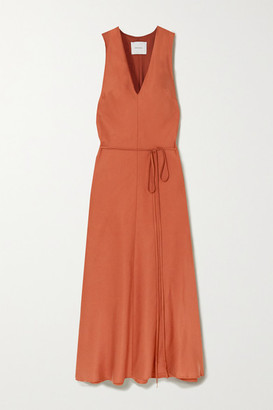 BONDI BORN Lyocell Midi Dress - Camel