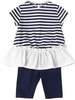 Il Gufo Cotton Jersey T-shirt & Leggings