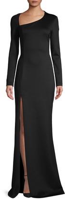 Black Halo Eve Akasha Split Gown