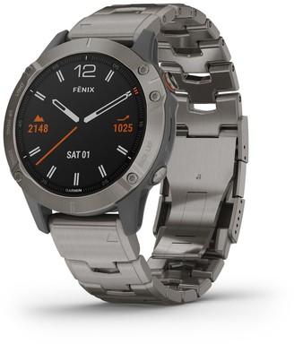 Garmin fenix 6 Sapphire Titanium GPS Smartwatch