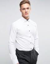 Selected Longsleeve Slim Shirt in Texture