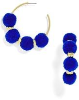 BaubleBar Havana Pom Pom Earrings