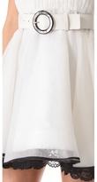 Alice + Olivia Valli Short Ruffle Dress