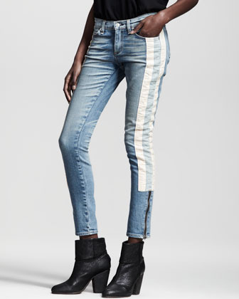 Rag and Bone The Skinny Racer Relay Jeans