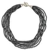 Tiffany & Co. Hematine Torsade Multistrand Necklace