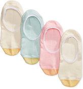 Gold Toe Women's 4-Pk. Lace-Trim Invisible Socks