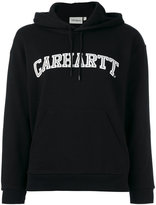 Carhartt logo hoodie - women - Cotton - S