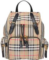 Burberry Vintage Check Medium Backpack