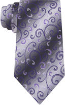 Van Heusen Paisley Silk Tie - Extra Long