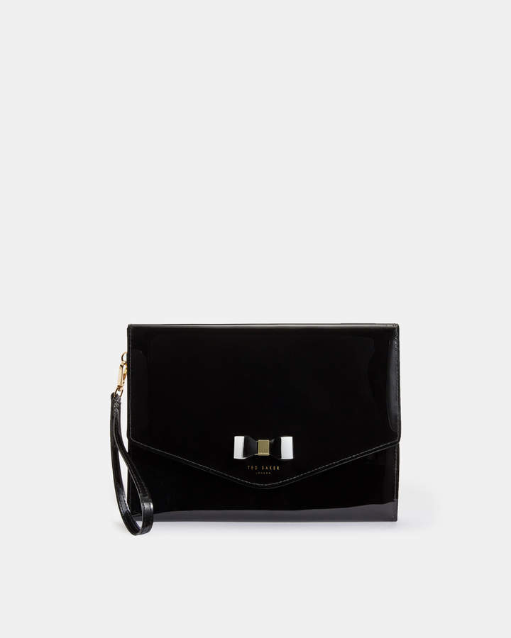 Ted Baker VERAI Bow detail clutch