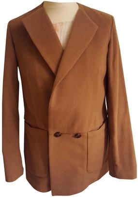 LK Bennett Camel Wool Coat for Women