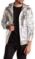 Daniel Won Hunter Metallic Camo Leather Jacket