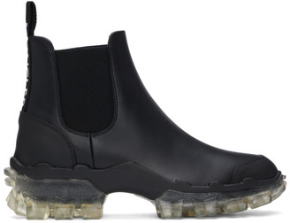 Moncler Black Hanya Chelsea Boots