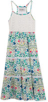 Rare Editions Floral-Print Maxi Dress, Toddler and Little Girls (2T-6X)