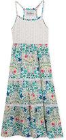 Rare Editions Floral-Print Maxi Dress, Toddler & Little Girls (2T-6X)