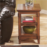 Signature Design by Ashley Cross Island Chairside Table