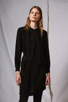 Topshop Scarf Drape Shift Dress by Boutique